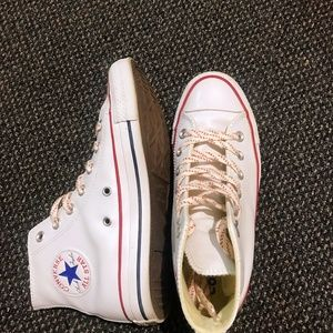 Converse chuck Taylor all star leather white